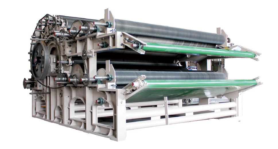 Single Clylinder Double Doffer Carding Machine