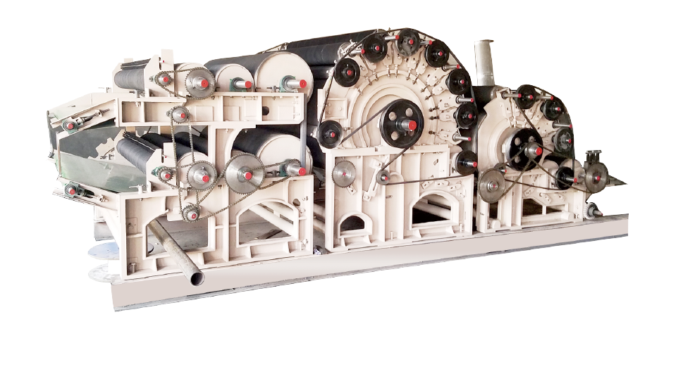 Two Cylinder Double Doffer Carding Machine